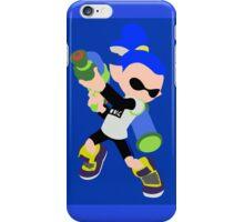 Inkling Boy (Blue) - Splatoon iPhone Case/Skin