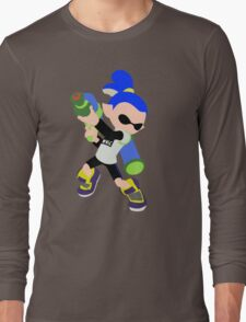 Inkling Boy (Blue) - Splatoon Long Sleeve T-Shirt