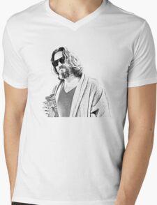 The Big Lebowski -The Dude Mens V-Neck T-Shirt