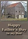 Fathers Day Pennsylvania Bank Barn by MotherNature