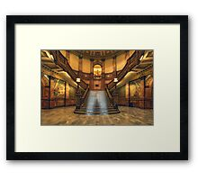 Rotunda Stairs (State Capitol Building, Denver, Colorado) Framed Print