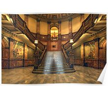 Rotunda Stairs (State Capitol Building, Denver, Colorado) Poster