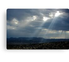 Before the Storm II ~ Sierra Co, New Mexico Canvas Print