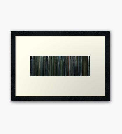 Moviebarcode: Snatch (2000) Framed Print