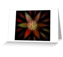 Puffy Star Greeting Card