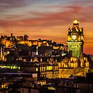 Edinburgh Late Autumn Sunset by Ian Coyle