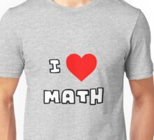 I Heart Math Unisex T-Shirt