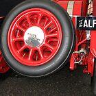 Alfa Romeo G1, 1921, Rear End  by Carole-Anne