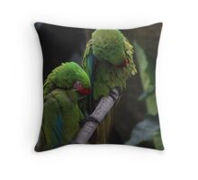 You ruffle my feathers Throw Pillow