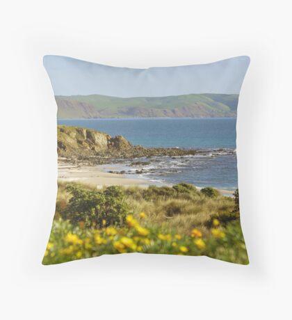 Carrickalinga  Beach, South Australia. Throw Pillow