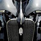 37 Plymouth Black Beauty by Debbie Robbins