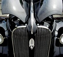 37 Plymouth Black Beauty by Debbie Robbins