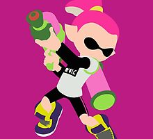 Inkling Boy (Pink) - Splatoon by samaran