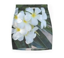 Frangipani or Yellow and White Flower Barbados Spring  If you like, please purchase, try a cell phone cover thanks Mini Skirt