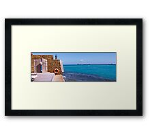 Eden Rock, Saint Barthelemy Framed Print