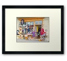 Argus House Framed Print