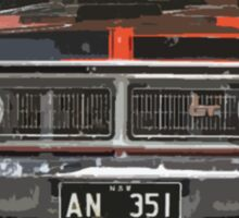 Red GT-HO Sticker