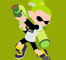 Inkling Boy (Green) - Splatoon by samaran