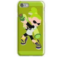 Inkling Boy (Green) - Splatoon iPhone Case/Skin