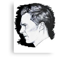 Cumberbatch Drawing Metal Print