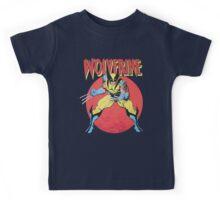 Wolverine Retro Comic Kids Tee