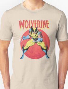 Wolverine Retro Comic T-Shirt