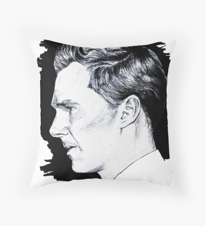 Cumberbatch Drawing Throw Pillow