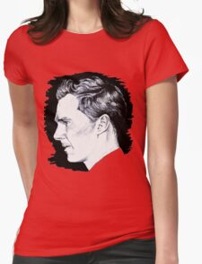 Cumberbatch Drawing Womens Fitted T-Shirt
