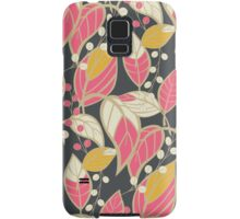 Seamless floral pattern with hand drawn leaves Samsung Galaxy Case/Skin
