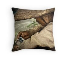 A Day's Wages #0101 Throw Pillow