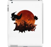 Halloween Spooky Blood Moon Spider and Birds iPad Case/Skin