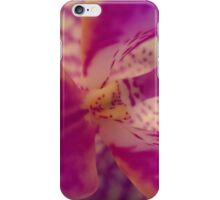 Orchid flower in bloom iPhone Case/Skin