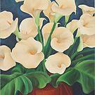 Arum Lilies by Martha Mitchell
