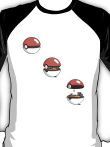 Inside the Pokeball T-Shirt