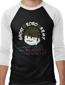 The GhostRobo Army Men's Baseball ¾ T-Shirt