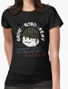 The GhostRobo Army Womens Fitted T-Shirt