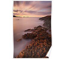 """Precambrian Sunset"" Poster"