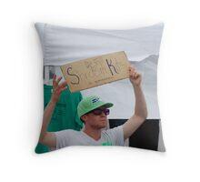 Shroom Kits Throw Pillow