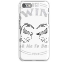 UCI Swing Club Dancing Anteaters 2015 White iPhone Case/Skin