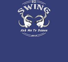 UCI Swing Club Dancing Anteaters 2015 White Unisex T-Shirt