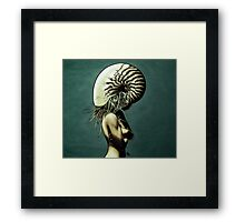 The Nautilus. Framed Print