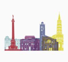 Toulouse skyline pop Baby Tee