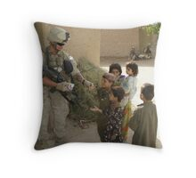 Hearts & Minds Throw Pillow
