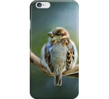English-House Sparrow iPhone Case/Skin