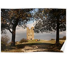 Broadway Tower, Cotswolds, Worcestershire, England Poster