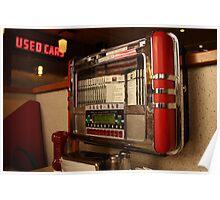 American diner jukebox Poster