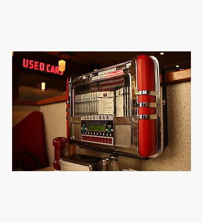 American diner jukebox Photographic Print