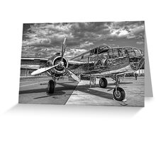 North American B-25J Mitchell Greeting Card