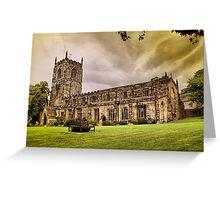 Holy Trinity Church, Skipton. Greeting Card