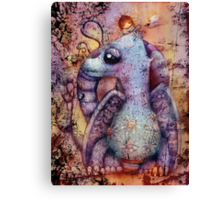 little may and misty the magic dragon Canvas Print